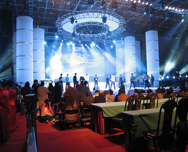 Chinese Award Ceremony with Lynx Pro Audio