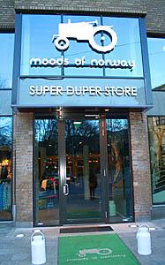 QB series in Oslo boutique