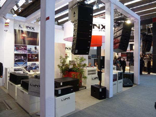 Lynx Pro Audio in Frankfurt 2012