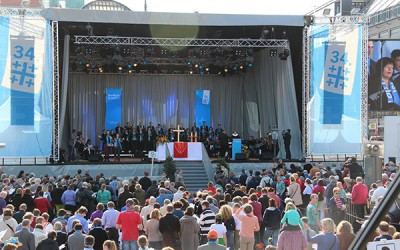 German Protestant Church Congress in Hambourg