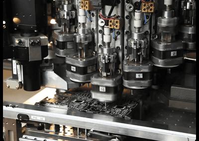 Circuit boards robot