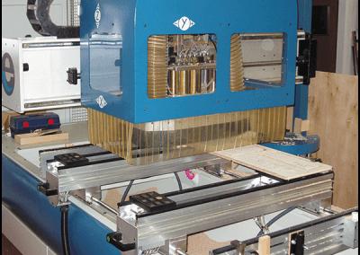 Mechanized plywood