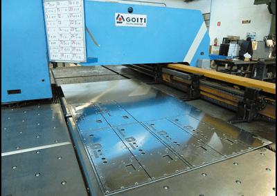 Mechanized steel