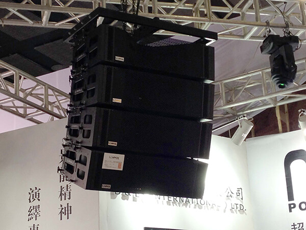 Lynx products exhibited at the Fair Prolight + Sound Guangzhou 2014