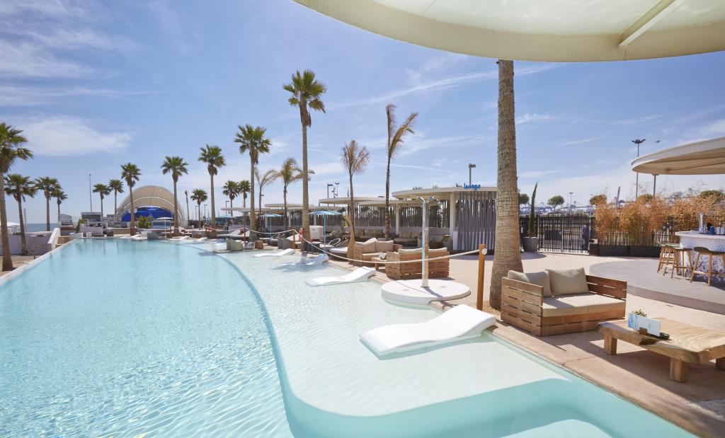 Lynx Pro Audio systems covering Marina Beach Club