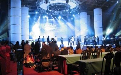 Ceremonia de Premios en Hong Kong con Lynx Pro Audio