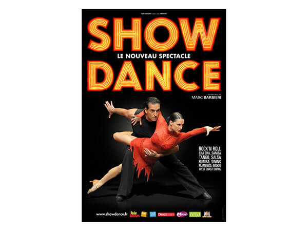 Show dance tour in France