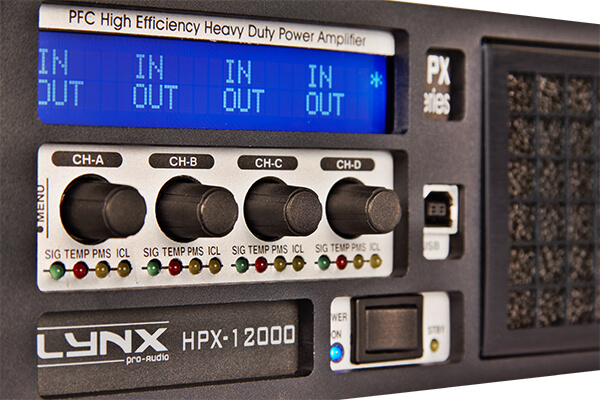 New touring amplifiers HPX