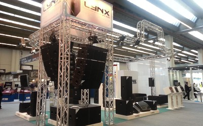 Our presence in Prolight+Sound with the new range 2015