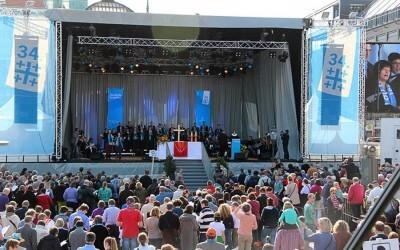 Congreso de la Iglesia Protestante Alemana en Hamburgo