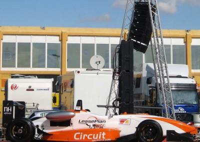 Lynx LX-V8 at Ricardo Tormo circuit