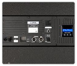 Rear panel CXA-18S Lynx