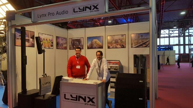 Lynx Pro Audio en la feria BITAM de Madrid