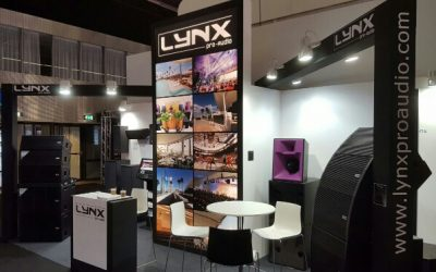 Lynx Pro Audio at the ISE fair in Amsterdam