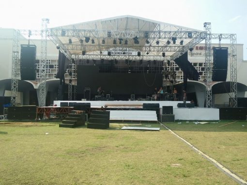 Big corporate event in Java using LX-V12