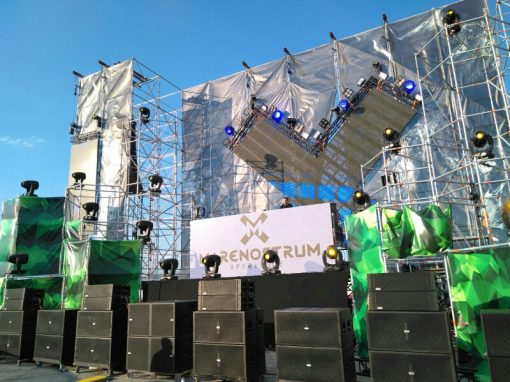 180.000 W of Lynx Pro Audio at Marenostrum festival