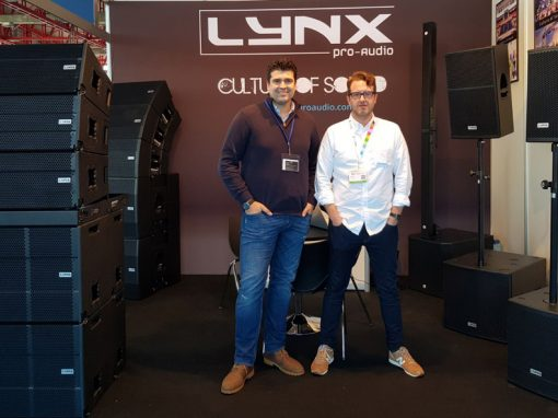 Lynx Pro Audio at BITAM Show in Madrid
