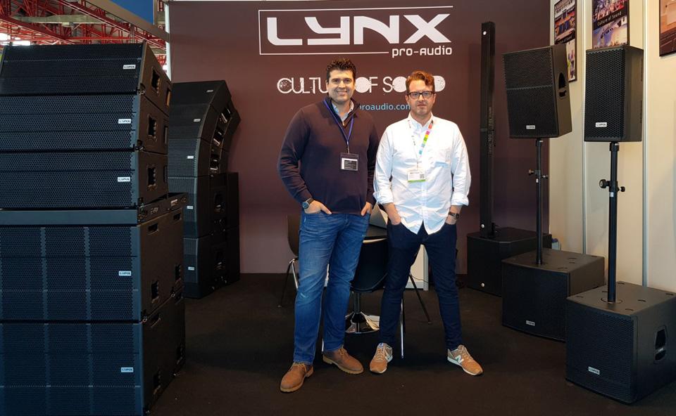 Lynx Pro Audio participó en la feria BITAM de Madrid