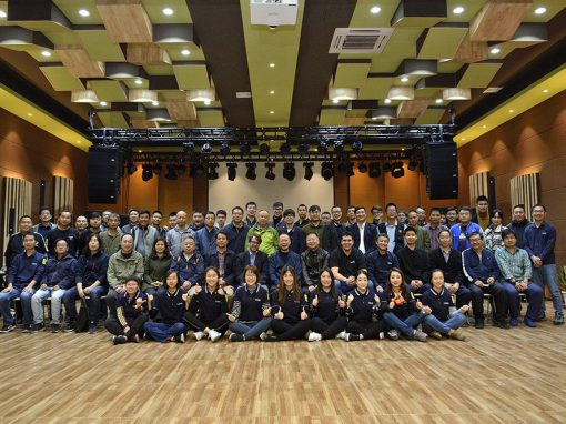 Good vibrations at the Lynx Technology & Speaker seminar held in Beijing (China)