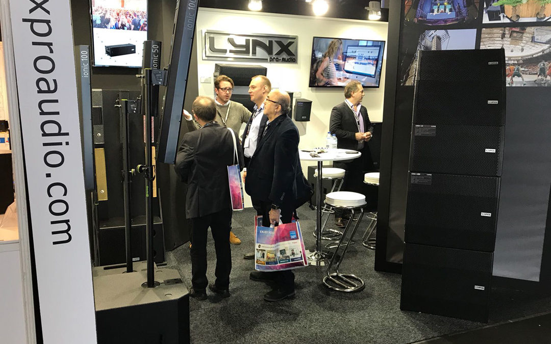 Lynx Pro Audio at ISE in Amsterdam