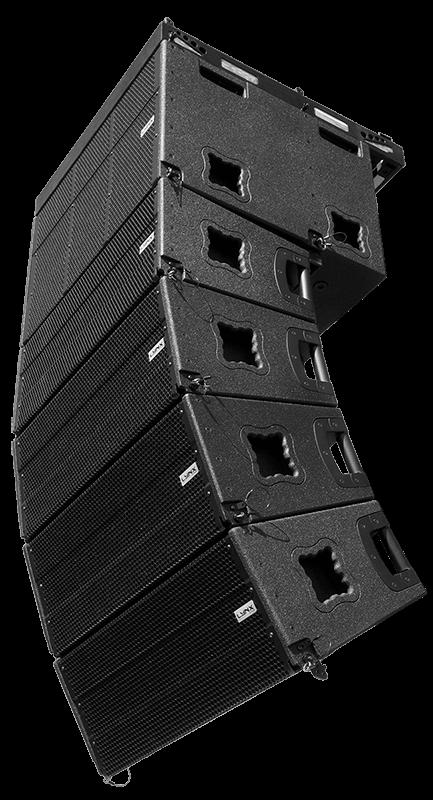 GXR-LA10A line array compacto, potente y versátil.