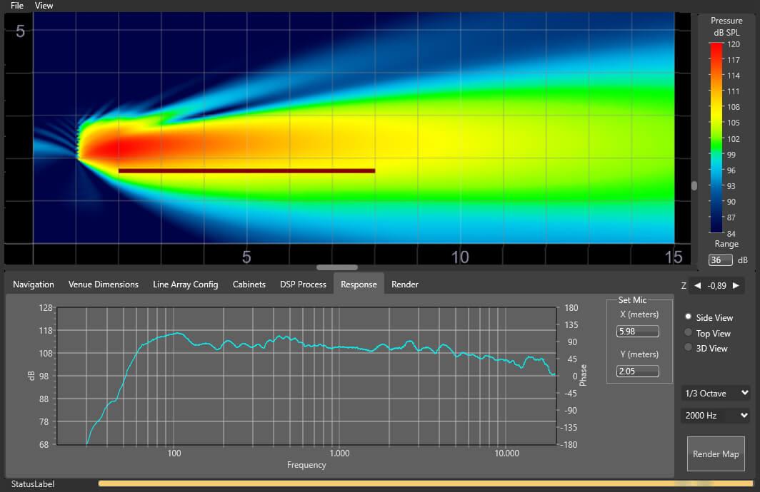 Rainbow 3D algoritmo cobertura uniforme