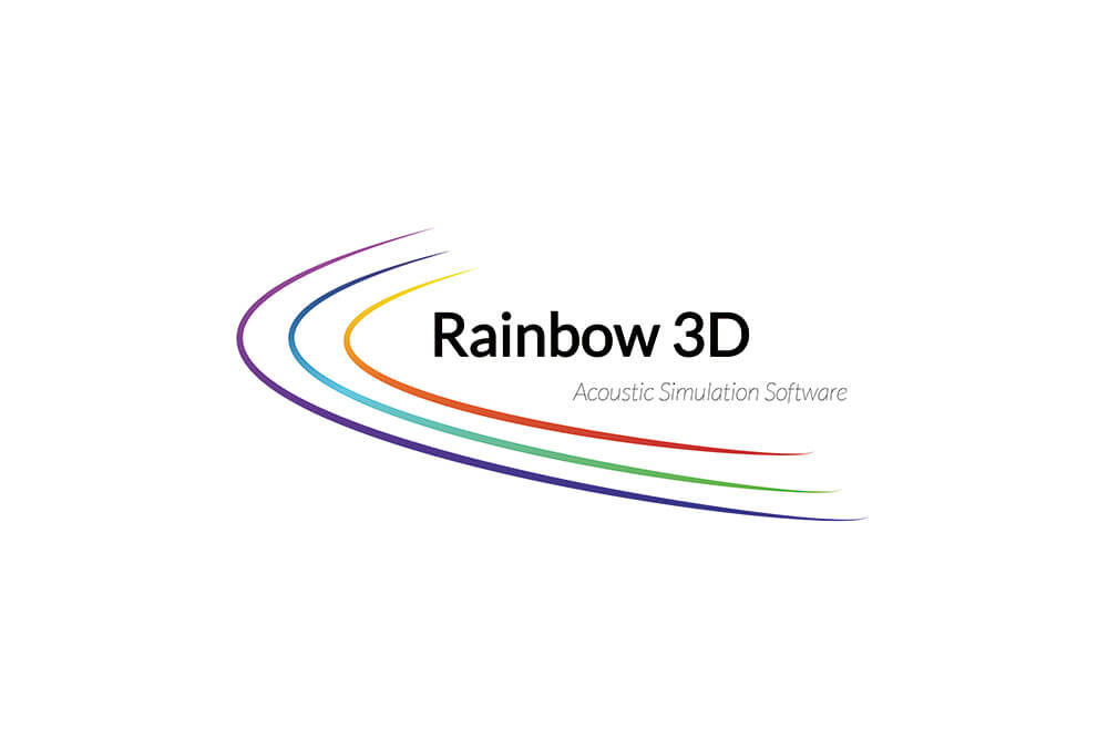 Logo Rainbow 3D Acoustic Simulation Software