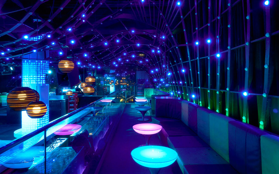 Lynx Pro Audio's professional sound comes to MYA, the most fancy nightclub in Valencia