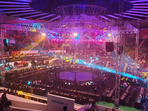 Road Fighting Championship in Daejeun, South Korea