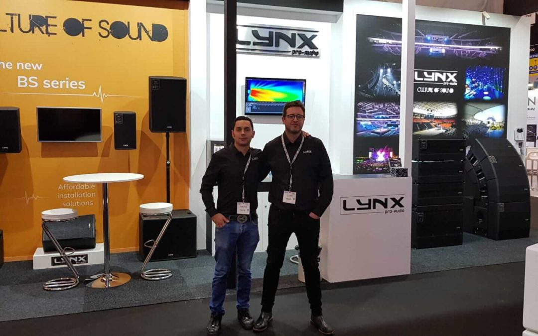 Lynx Pro Audio at ISE 2019 fairtrade in Amsterdam
