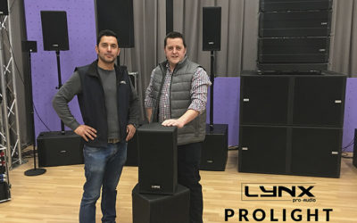Prolight Concepts Group, distribuidor exclusivo de Lynx Pro Audio en el Reino Unido