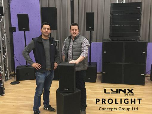 Prolight Concepts Group and Lynx Pro Audio announce UK Distribution Partnership