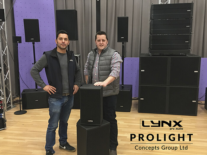 Prolight Concepts Group and Lynx Pro Audio announce UK Distribution Partnership