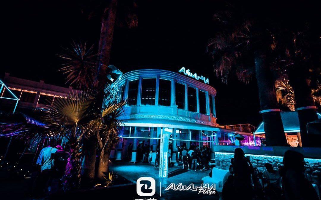 Akuarela Playa, una de las discotecas más populares del verano