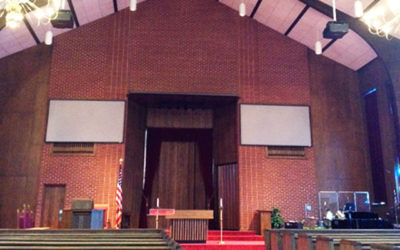 Fort Polk Chapel in Louisiana for the US army