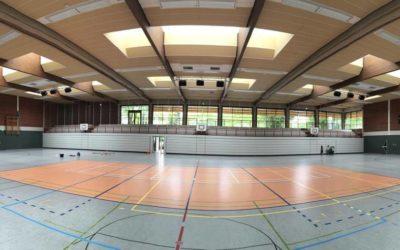 Centro Polideportivo Vechtehalle en Schüttorf, Alemania