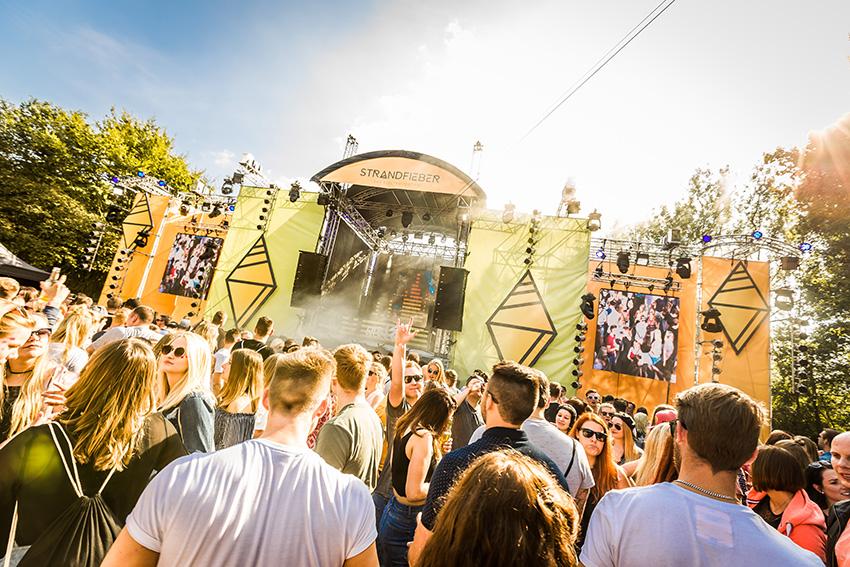 Strandfieber Festival, an electro festival in Germany