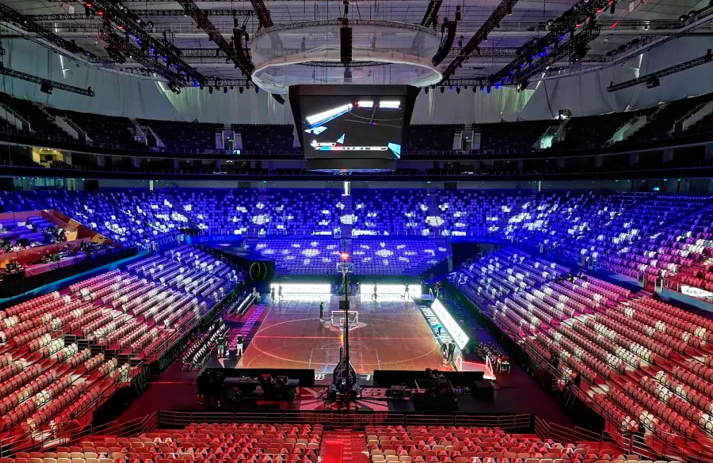 Complejo deportivo Shanghai Oriental Sports Center