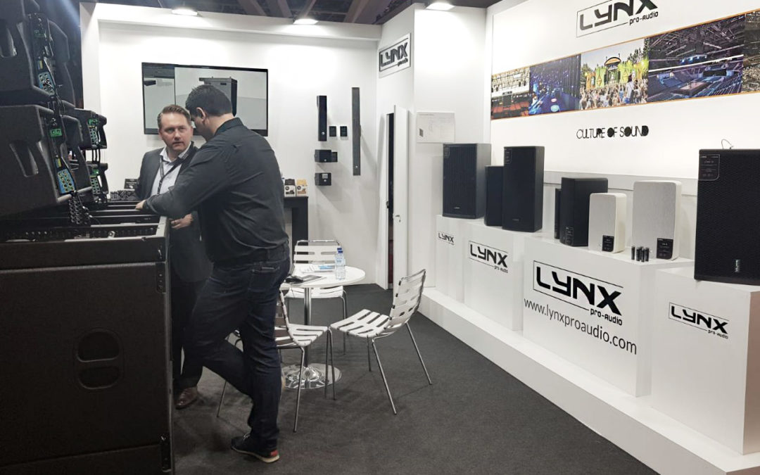 Lynx Pro Audio presents the new coaxial Line Array speakers at ISE 2020