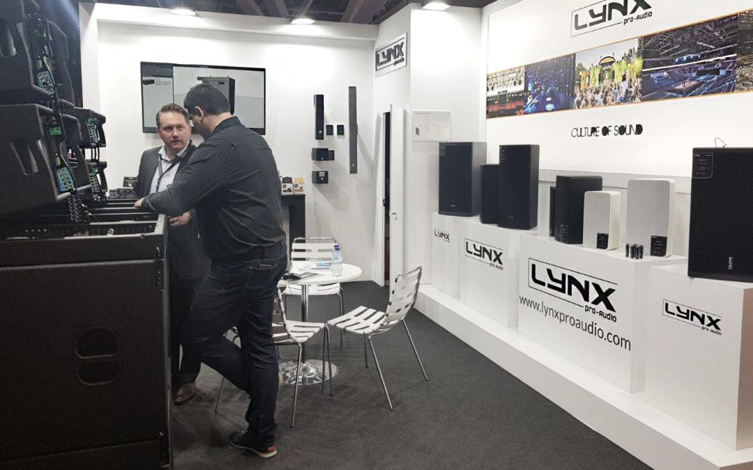 Lynx Pro Audio presenta su nueva serie de Line Array coaxiales en ISE 2020