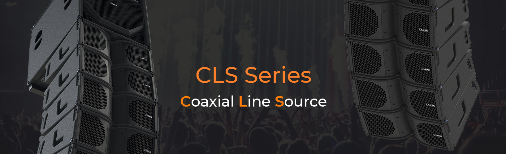 Lynx Pro Audio coaxial line source line array CLS
