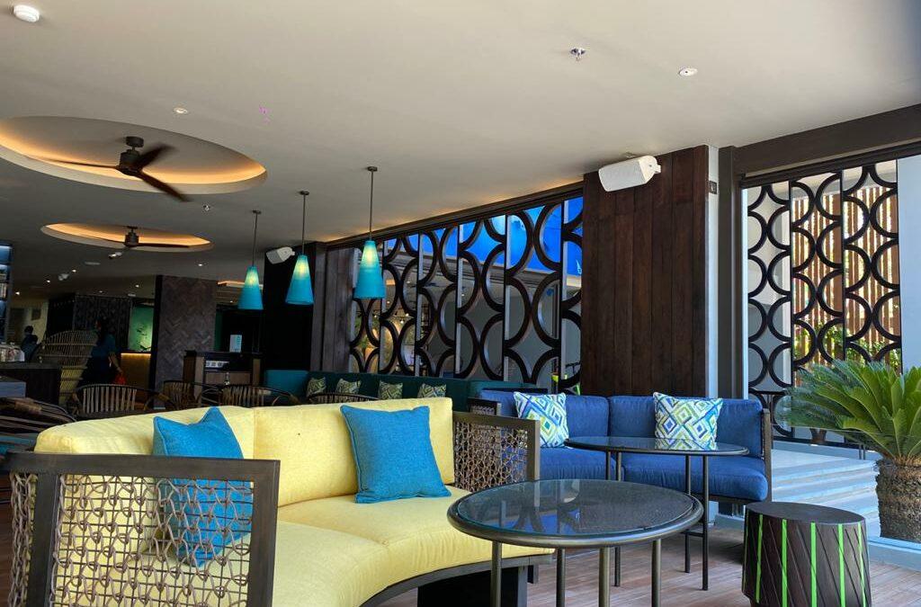 Juno series installation in Mamaka Hotel, Bali