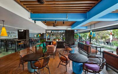 Instalación de la serie Juno en el Hotel Mamaka, Bali