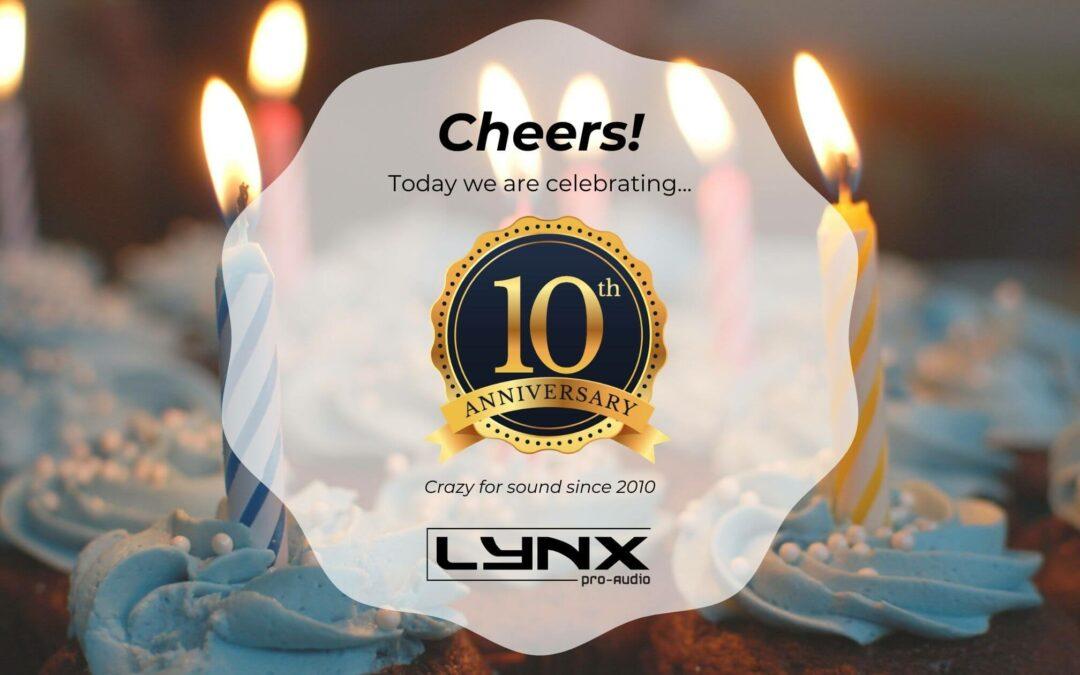 Lynx Pro Audio 10th anniversary